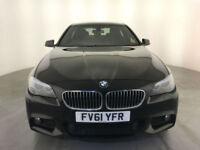 2011 61 BMW 525D M SPORT DIESEL 4 DOOR SALOON SERVICE HISTORY 1 OWNER FINANCE PX