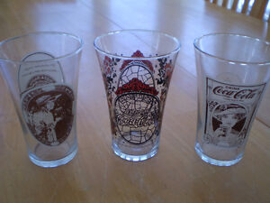 VINTAGE COCA COLA GLASSES Windsor Region Ontario image 1