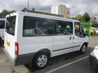 2010 60 FORD TRANSIT 2.2 280 LIMITED TOURNEO 9 SEAT MINIBUS 115 BHP !!! CHOICE