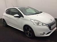£223.01 PER MONTH WHITE 2014 Peugeot 208 1.6 THP GTi 3 DOOR PETROL MANUAL