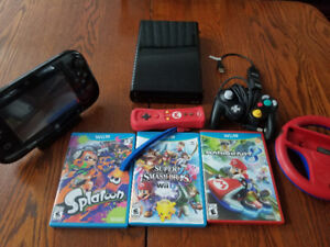 Wii U Bundle. W/ Limited edition controllers and games.