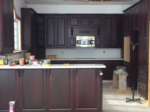 Kitchen Cabinets & Corian Solid Surface Countertops