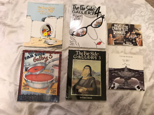 3 sets of comic books - Dilbert and Far Side $20 each group