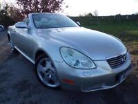 2004 Lexus SC 430 4.3 2dr Auto Sat Nav! Heated Seats! 2 door Convertible