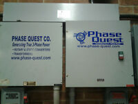 2 Phase quest rotary phase converters