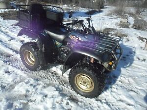 EXCELLENT CONDITION 2 OWNER YAMAHA BIG BEAR 4X4.