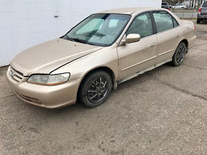 2002 Honda Accord PRICED DROP! SELLING TODAY Sedan