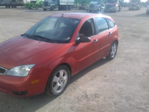 2005 Ford focus zx5 safetied