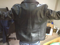Daniel Leather Jacket (good as new condition)...