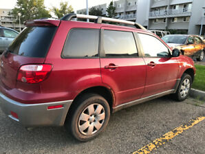 2006 Mitsubishi Outlander | LOW KILS 178k kils | LADY DRIVEN