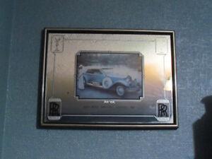 Vintage Rolls Royce Mirror
