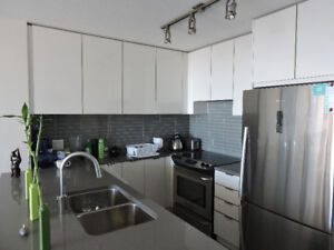Luxury brand new apartment at SFU.  Fully furnished.