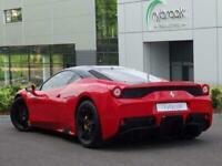 2015 Ferrari 458 4.5 Speciale 2dr Coupe Petrol Automatic
