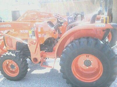 Two 278.50x15278.50-15 Kubota L3200 Loader Skidsteer Tubeless Rim Guard Tires