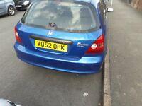 Honda Civic 1.4 5 Door BARGAIN