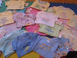 NEW:Baby boy and girl Slogan bodysuit (6 Months) - $4 each only