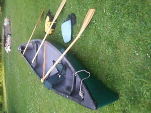 Complete canoe package for sale including everything you need.