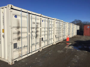 new, used 20' & 40' shipping containers. units in Halifax now.