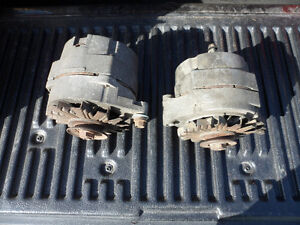 2 Chevy Alternators of 1985 Chevy Trucks