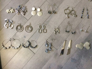 Costume jewelry - necklaces, bracelets, earrings, rings