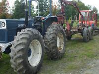 tracteur universel 640 4 roues égal 4x4