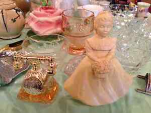 Depression Glass, China, Glassware, Collector Spoons, Avon Perfu London Ontario image 5