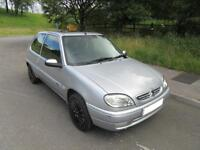 2003 '53' CITROEN SAXO 1.1i DESIRE 3 DOOR HATCH IN MET SILVER ONLY 52,000 F,S,H,