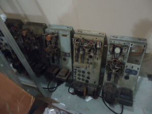 Lot of 6 - 1950s Seeburg Jukebox Amps and Stepper Unit Receivers