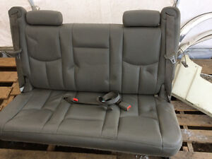 Leather 3rd row seat for 2000 and up suburban, tahoe, yukon
