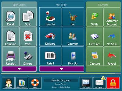 Amigo Pos Software For Restaurant Bar Pizza Retail Version 8 New