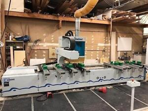 Weeke (Venture 3) CNC Router Pod and Rail C-Axis