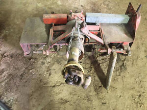 60 inch BEFCO rototiller with 3 point hitch