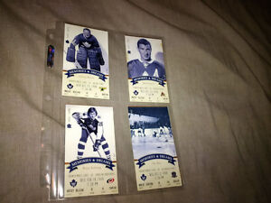 Last Game Tickets @ Maple Leaf Gardens MLG Leafs or Bobblehead