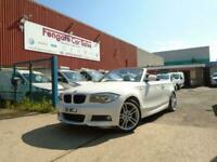 BMW 1 SERIES 120d M Sport 2dr Step Auto 42K SH LEATHER P/AID 1F/KEEPER AC CD