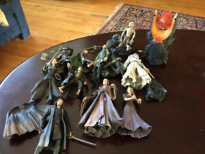 Lord of the rings Seigneur des anneaux figurines 2002