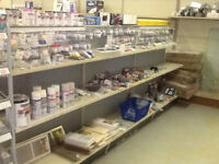 SHELVING SALE - hardware store closing - ALL SHELVING MUST GO