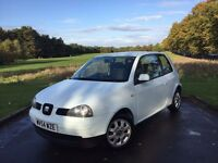 2004/54 SEAT AROSA 999cc 1.0, MANUAL, 3-DR**NEW MOT***ONE OWNER**28,000 MILES + FULL SH**NOT VW LUPO