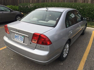 HONDA CIVIC 2002 CERTIFIED AND E-TESTED INCLUDED IN PRICE