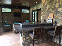 Brick, Block, Cultured Stone and Natural Stone Work