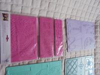 multi-design embossing boards
