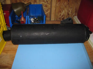 Stock muffler for a ZRX 1100 for sale