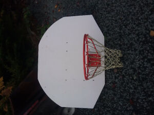 Basket ball hoop and back board