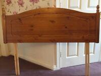 Pine Headboard - Double bed
