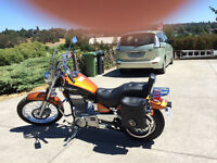 2014 Suzuki Boulevard S40 (formerly L650 Savage), with Extras!