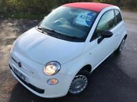 FIAT 500 1.2 POP £22 WEEK NO DEPOSIT GREAT 1ST CAR 36K MILES £30 TAX 3DR 2011