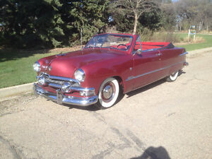 1951 FORD CUSTOM CONVERTIBLE
