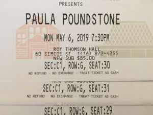 3 Tickets to see Paula Poundstone