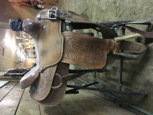 """14.5"""" Martin Rope Saddle"""