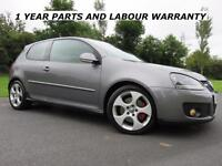 """VW GOLF """" GTI """" 2.0 TURBO 200 BHP ** 3 DOOR **LOW MILES & F.S.H ** RECARO'S"""