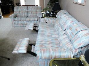 Sofa and Love Seat by Lazy boy.